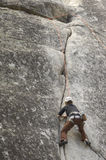 Rock Climbing Royalty Free Stock Image