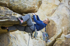 Rock climbing. Stock Photography