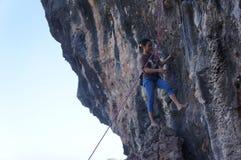 Rock climbing Royalty Free Stock Photography
