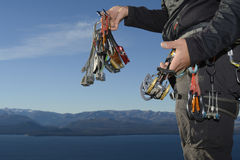Rock Climbing Equipment Stock Image