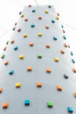 Rock climbing exerciser Royalty Free Stock Image