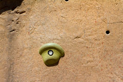Rock Climbing Handhold Detail Royalty Free Stock Image