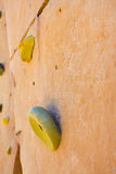 Rock Climbing Handhold Detail Royalty Free Stock Photos