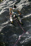 Rock climbing Stock Photography