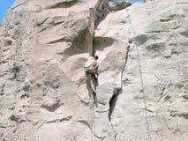 Rock Climbing - Montana Stock Image