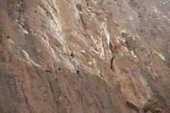 Rock climbing in Morocco Stock Photography