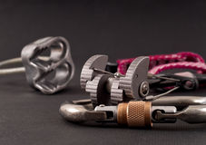 Rock Climbing Necessities Stock Photography
