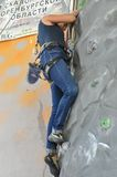 Rock climbing Royalty Free Stock Photo