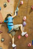 Rock Climbing Series A 14 Stock Image