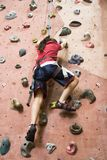 Rock Climbing Series A 6 Royalty Free Stock Image