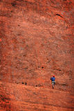 Rock Climbing in Southwest United States Stock Photography