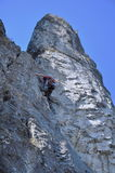 Rock climbing Stock Photos