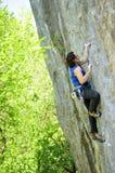 Rock climbing in Ukraine, Crimea 2 Royalty Free Stock Photos