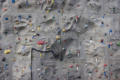 Rock Climbing Wall 1 Royalty Free Stock Image