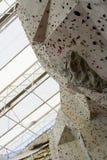 Rock climbing wall Royalty Free Stock Image
