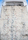 Rock Climbing Wall on Back of Cruise Shp Stock Image