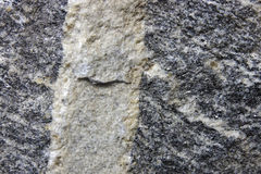 Rock. The close-up of Vein-shaped Intrusive Structure Royalty Free Stock Photos