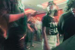 Rock club abstraction stock photos