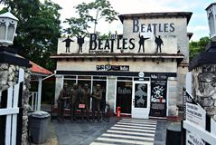 Rock club the Beatles Stock Images