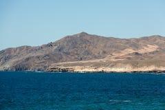 Rock coast near La Pared village on the south western part of Fuerteventura. Canary Islands, Spain Stock Photos