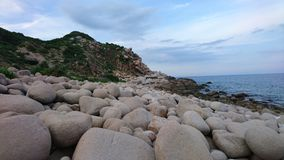 Rock, Coast, Shore, Sea stock image