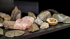 Free Rock Collection With Quartz Stock Photography - 125033602