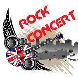 Rock concert Stock Image