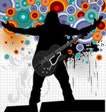 Rock concert Royalty Free Stock Photo