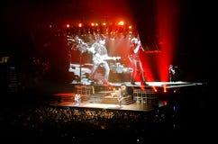 Rock Concert. Fans watching Van Halen in Las Vegas, Nevada May 27th, 2012 Royalty Free Stock Photography