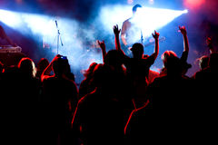 Rock concert Royalty Free Stock Images