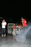 Rock concert stock photos