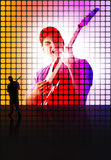 Rock Concert Abstract Royalty Free Stock Photo