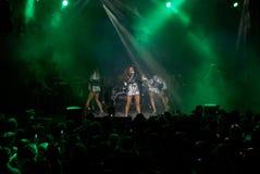 Rock concert of Anita Tsoy Royalty Free Stock Image