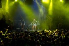 Rock concert of Anita Tsoy Stock Photography