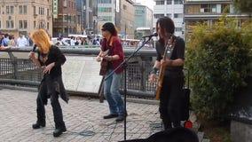 Rock concert, Kyoto, Japan stock video footage