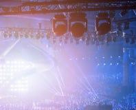 Rock concert light. Background image Stock Photo