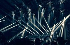 Rock concert stock image