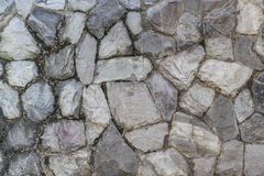 Rock concrete wall texture Stock Photo