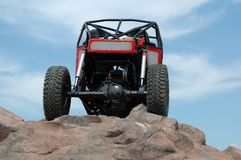 Rock Crawling. Royalty Free Stock Image