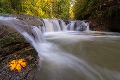 Rock Creek en vallée heureuse Orégon Etats-Unis photographie stock