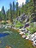 Rock Creek, Monrtana Imágenes de archivo libres de regalías