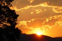 Rock Creek Montana royaltyfria foton