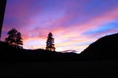 Rock Creek Montana arkivbild