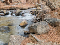 Rock Creek in the Owens Valley Stock Photos