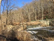 Rock creek park in winter Stock Photography
