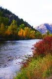 Rock Creek Sapphire Mountains Stock Photos