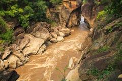 Rock Creek sinkhole Royalty Free Stock Image