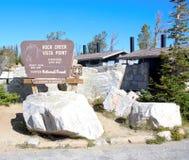 Rock creek vista point in montana state Stock Photos