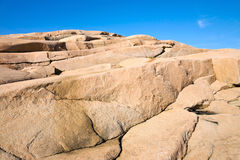 Rock crevice Royalty Free Stock Image