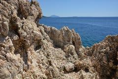 Rock in Croatia Royalty Free Stock Photography